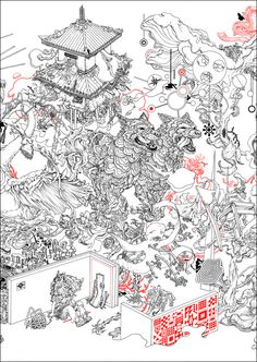 James Jean for Big Bad Wolf