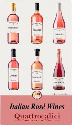 Rosé Wines - Quattrocalici: Know the Wine - Beer Calories, Wine Direct, Wine Searcher, Wine News, Wine Education, Wine Sale, Wine Guide, Grand Cru, Italian Wine