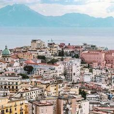 NAPOLI, ITALY #Napoli - #Italy Photo Credit: @marcomount Chosen by: @la_gomme ≔≕≔≕≔≕≔≕≔≕≔≕≔