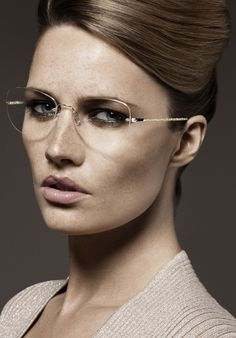 Check out super awesome products at Shire Fire! :-) OFF or more Sunglasses SALE! People With Glasses, Girls With Glasses, Silhouette Glasses, Glasses For Your Face Shape, Rimless Glasses, Attractive Eyes, Eyewear Trends, Fashion Eye Glasses, Designer Eyeglasses