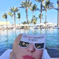 """Current situation for our friends over at The Travel Critic (@thetravelcritic on #instagram): """"I'm absolutely loving it. Seriously resonates so deeply with me!"""" 🌴 I can't do much about the palm tree-lined, beachside resort, but I *can* offer you a copy of #EnlightenmentisSexy. It's available on #Amazon. Come 'n get it: http://amzn.to/1PjxmjS #travel #travelgram #books #author #vacation #goodreads"""