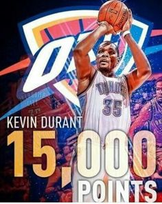 youngest player to reach pts! Kevin Durant Basketball, Basketball Art, Nba Tv, Hoop Dreams, Oklahoma City Thunder, Sports, Action, Cars, Nice
