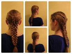 "Game of Thrones Hair: Daenerys Targaryen ""Pyre Scene"" Inspired Braid."