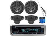 The common Marin stereos do not work in the presence of salty water and the humid ambience. As a result, you need to opt for a marine stereo system. Dipole Antenna, Boat Radio, Boss Audio, Aux Cord, Waterproof Speaker, Sd Card, Bluetooth, Top, Shirts
