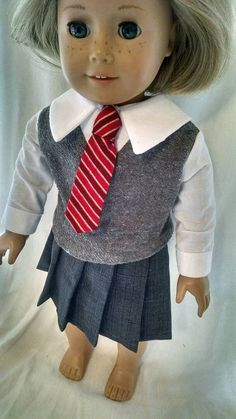 Check out this item in my Etsy shop https://www.etsy.com/listing/253585388/harry-potter-uniform-for-american-girl