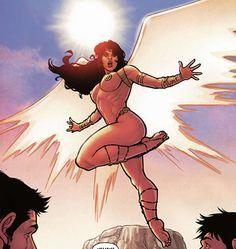 dejah thoris uses the wings that valian gave her
