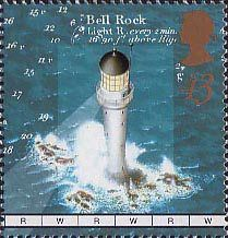 The Bell Rock Lighthouse, Arbroath Illustrated on 1998 British Stamp Mint NH Bell Rock Lighthouse, Lighthouse Art, Postage Stamp Design, Postage Stamps, Maritime Museum, British History, Mail Art, Stamp Collecting, Poster