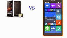 Nokia Lumia 730 VS Sony Xperia E3 Specification and Review ~ TechCDMA