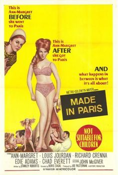 Made in Paris movie poster