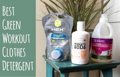 Best Green Laundry Detergent for Workout Clothes