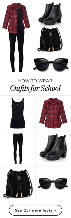 """School"" by natalie-ruth on Polyvore featuring Vitamin, Ström, Juvia and Vince Camuto"