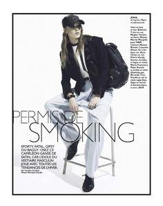 """Grazia France No.169 December 2012, """"Permis de Smoking"""""""