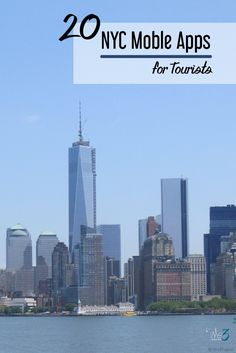 20 New York City mobile apps | iphone apps to help you navigate the crazy streets of New York City and find the best places to visit for NYC travel