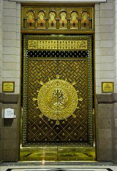 Mosque of the Prophet (Masjid-e-Nabvi) Madina