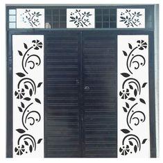 Modern Main Gate Designs, House Main Gates Design, Front Gate Design, Door Gate Design, Steel Railing Design, Staircase Railing Design, Grill Gate Design, House Ceiling Design, House Design