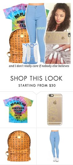 """""""#100happydays #day28"""" by lamamig ❤ liked on Polyvore featuring Casetify and MCM"""