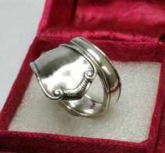 Besteckring Silberring  Ring glänzend 19,5 SR583 von Atelier Regina  auf DaWanda.com