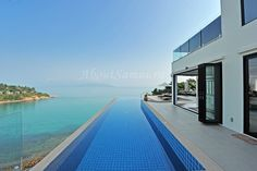 6-bedroom villa on Choeng Mon with kitchen, seaview, private swimming pool, living room, billiard table, gym from 40,000 baht/night. 500 meters to the sea. 3 nights minimum. №956A