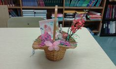 My high school students helped make Easter baskets for residents at a nursing home we often visit.