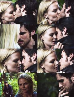 Captain Hook and Emma Swan
