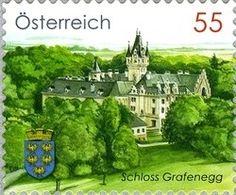 Sello: Grafenegg Castle (Austria) (Architecture) Mi:AT 2883,Yt:AT 2711,ANK:AT 2911,WAD:AT037.10