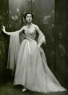 Fashion by Christian Dior, 1958.