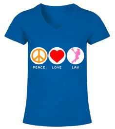 Peace Love Lax youth lacrosse (V-neck T-Shirt Woman - Royal Blue) lacrosse hair, lacrosse couples, lacrosse player costume #lacrosseheads #lacrosseplayer #lacrossehunting, back to school, aesthetic wallpaper, y2k fashion Lacrosse Quotes, Short, Peace And Love, Aesthetic Wallpapers, V Neck T Shirt, Royal Blue, Back To School, Youth, Costume