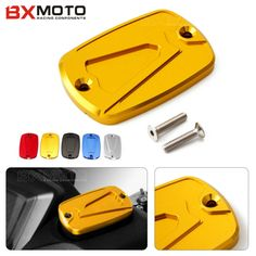 For Yamaha T-max 500 2008-2011 T-max 530 2012-2015 Motorcycle accessories CNC Brake Fluid Reservoir Cap Cover Gold