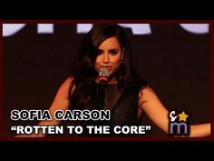 "Sofia Carson - ""Rotten to the Core"" from Disney's DESCENDANTS Live at D23 Expo 2015 - YouTube"