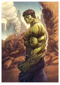 #Hulk #Fan #Art. (The_Hulk) By: Bryan valenza. [THANK U 4 PINNING!!]