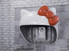 Hello Kitty Phone Station