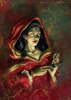 The Lilim - Morwanneg by Claudia-SG ~She always reminds me of a wicked Queen or evil stepmother~