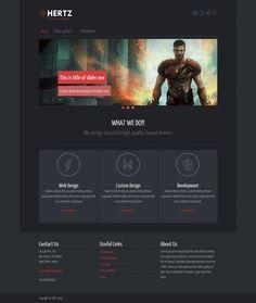 Hertz Drupal Theme Blog Websites, Best Seo, Drupal, Web Design, Design Blogs, Business Website, Page Layout, Design Development, Custom Design