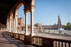 Plaza de España of Seville - Group Coach Tour of Andalucia, Valencia, Barcelona and Madrid from Lisbon