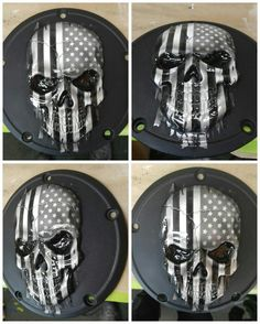 3D skull with tattered American flag draped over it Www.brockblackdesigns.com 3d Artwork, Harley Davidson Motorcycles, American Flag, Skull, Bike, Paint, Bicycle, Picture Walls, American Fl