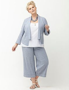 85eeb5d95bed Cool linen jacket is a breezy style essential for the season in a fresh,  flyaway