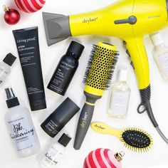 Give your hair holiday flair! These products provide major texture and volume. #Hair #Beauty #Holiday
