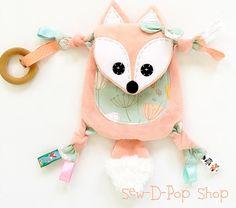 Mini Baby Fox Toy Teething Memory Lovey Keepsake friend