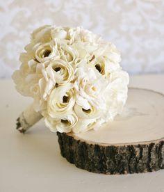 Vintage Bride Bouquet Shabby Chic Wedding item by braggingbags, $89.99