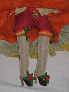 1930 в Tagged Жоао Перотти Bahia / Chiquita Banana Lady Войлок будуар с victoriandreams На рубиновых переулке