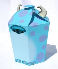 Monsters Inc Inspired Sulley LARGE Gift Box Instant by Shnookers, $5.00