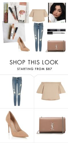 """Exposed"" by ynes-7 ❤ liked on Polyvore featuring Frame Denim, TIBI, Lipsy, Yves Saint Laurent and Christian Dior"
