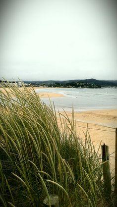 Panjon. Nigran.Galicia. Spain . Playa. Dunas. Mayo 2014 Beach Sea.Sand
