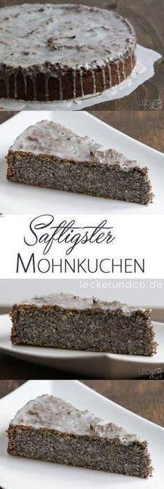 Saftigster Mohnkuchen überhaupt