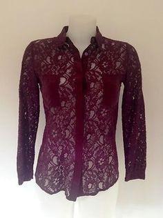 Baum Und Pferdgarten Lace Shirt W/Pockets - RRP: £139.00 in Tops & Shirts | eBay