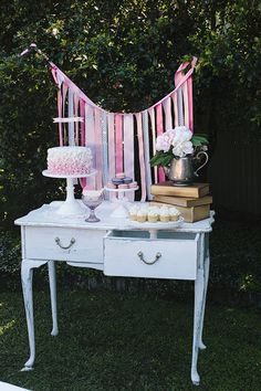 Little Big Company Blog feature A Garden #High Tea Party by Captured with Love Photography/ ribbon