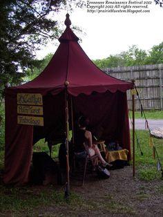 tarot reading tent - Google Search