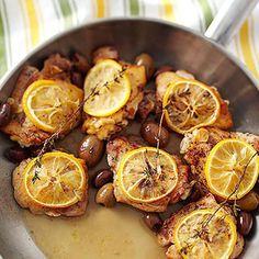 Monday: Mediterranean Chicken - Fitnessmagazine.com