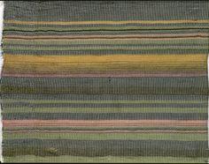 Pillowcase, detail Rib weave. Warp: grey cotton Weft: mohair - lime-green, ochre, green, pink, black, white 1920/21 49x114 cm  Bauhaus-Archi...