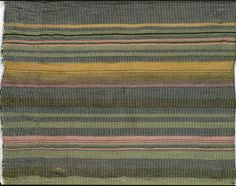 Pillowcase, detail Rib weave. Warp: grey cotton Weft: mohair - lime-green, ochre, green, pink, black, white 1920/21 49x114 cm  Bauhaus-Archiv, Berlin Inv.No. 1341